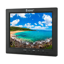 "Eyoyo 8"" pollici LCD HD Audio Video HDMI BNC AV Monitor Display Per DSLR PC DVD"