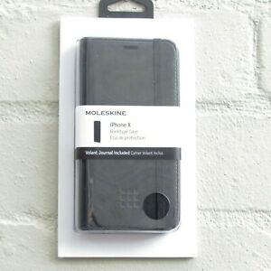 MOLESKINE iPhone X Booktype Case Black