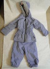 Girl's LL Kids LL BEAN Two Piece Snowsuit Size 2T color Periwinkle blue
