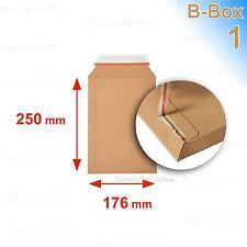 5 Enveloppes/pochettes carton rigide 176x250 B-box 1