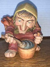 Anri Little Folk Of Salvans Mountain Troll Old Woman