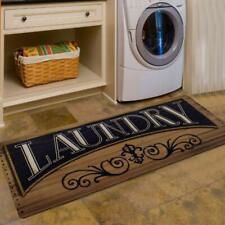 Floor Rug Laundry Room Washhouse Mat Waterproof Kitchen Non Skid Rubber Area Rug