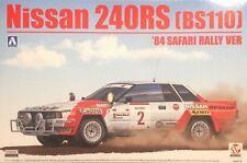Beemax Nissan 240RS BS110 84 Safarri Rally Ver Escala 1:24