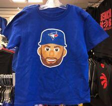 Toronto Blue Jays Kevin Pillar Emoji Royal Name & Number T-Shirt Toddler Size 2T