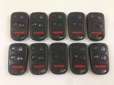 LOT OF 10 HONDA ODYSSEY KEY LESS ENTRY REMOTE 5-BUTTON OEM CAR ALARM 01-04 US
