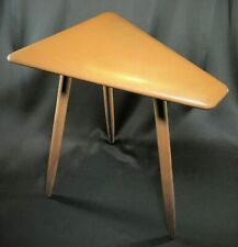 Mid-Century Modern CUSHMAN Cigarette or Side Table Signed ca.1950's Rare Piece!