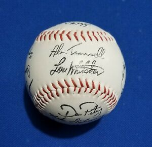 1984 Detroit Tigers Signed Autographed Baseball Stamped World Series Champs