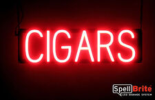 SpellBrite Ultra-Bright CIGARS Sign Neon-LED Sign (Neon look, LED performance)