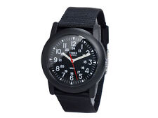 Timex Camper Black Dial Black Nylon Band Quartz Men's Watch T18581