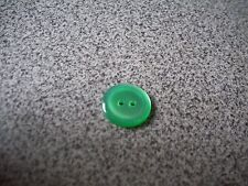 Green 2 Hole Sewing  Buttons Lot of 4
