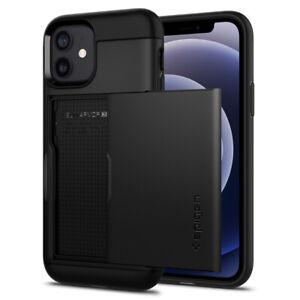 iPhone 12 Mini, 12, 12 Pro, 12 Pro Max Case | Spigen® [Slim Armor CS] Cover