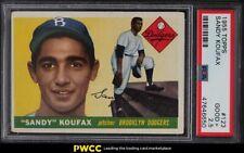 1955 Topps Sandy Koufax ROOKIE RC #123 PSA 2.5 GD+