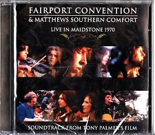 Fairport Convention & Southern Comfort -Live In Maidstone 1970 CD-NEW-Soundtrack