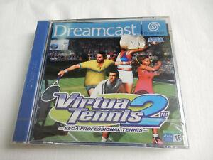 Virtua Tennis 2 für Sega Dreamcast - CIB - Komplett - Neu in Folie !