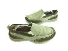 Skechers 63820 Relaxed Fit Canvas Moc Toe Memory Foam Slip-on Shoes Men's 9 [A8]