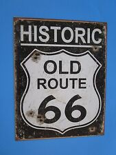 metal tin auto route 66 highway chevy ford dodge mopar buick pontiac 1938
