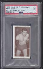 Churchman - Boxing Personalities 1938 - Max Baer - PSA 7 NM