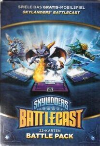 Skylanders Battlecast - 22 Karten Original Battle Pack - Neu / OVP