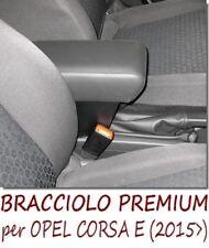 Bracciolo Premium per  OPEL CORSA E -MADE IN ITALY -appoggiagomito-poggiabraccio