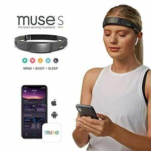 MUSE S: The Brain Sensing Headband Guided Meditation and Sleep Multi Sensor Head