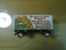 Nice Ho Scale Ringling Brothers Animal Trainer Circus Wagon