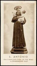 santino-holy card*S.ANTONIO DA PADOVA-CHIARAMONTE GULFI