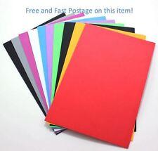 10 Sheets A4 EVA Foam Sheet, Purple, Blue, Yellow, Green,Pink, A4 Felt Craft 8pc