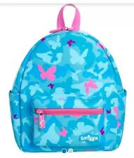 """🦋 PRETTY ! 🦋 """"SMIGGLE"""" NEON BackPack 🎒- Butterflies Paradise (BLUE) 🦋🦋"""