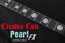 Kurt Cobain Nirvana Smiley Face Vinyl Inlay Set for Fender or ANY BASS & GUITAR