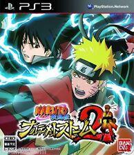 Used PS3 Naruto: Ultimate Ninja Storm 2 SONY PLAYSTATION 3 JAPAN JAPANESE IMPORT