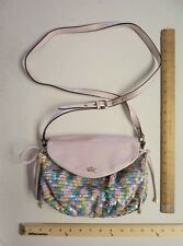 Women's JUICY Couture Purse Hand Bag Tote PINK Candy Colors PRICE DROP