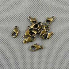 12x Craft Supplies Jewelry Making Findings DIY Retro Charms A1177 Lobster Clasp