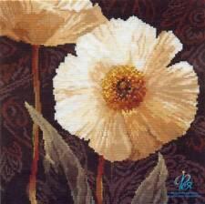 Kit de broderie point de croix compté 2-16/Fleurs/Bouquet 25 x 25 cm