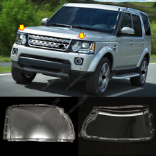 For Land Rover Discovery 4 LR4 2014-2016 Front Headlight Headlamp Lens Cover *2