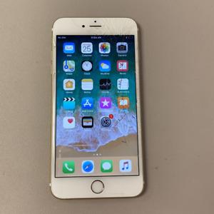 Apple iPhone 6S+ - 128GB - Gold (Unlocked) (Read Description) EE1034