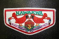 OA NAWAKMA LODGE 3 ROBERT E LEE COUNCIL CARDINAL SMY 1996 NOAC DELEGATE FLAP