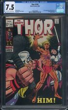 THOR #165 Marvel Comics CGC 7.5 1st Full Appearance of Him (Adam Warlock) MCU