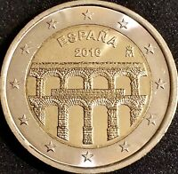 2 euros conmemorativos - España 2016 - Acueducto de Segovia, SIN CIRCULAR....