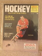 Hockey Illustrated Magazine January 1964 Boom Boom Geoffrion Montreal Canadiens