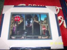 Coca Cola KING KONG Coke ART Signed CEL 378 - 2000 LTD Print Frame Certificate