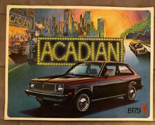 PONTIAC ACADIAN 1979 dealer brochure - French - Canadian Market