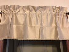 Royal Velvet Supreme Insert Valance 41 W x 15 L Linen