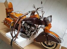 HARLEY DAVIDSON INDIAN handmade bike motorcycle tin tinplate car