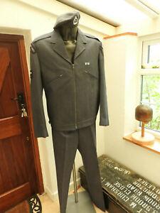 Military RAF Royal Observer Corps Hat Jacket Tunic Blouse Uniform Badges (5313)