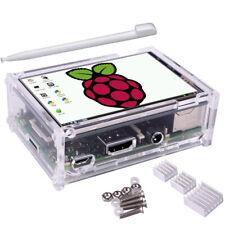"3.5"" TFT LCD Touch Screen + Case + Heatsink + Touch Pen Kit For Raspberry Pi 3"