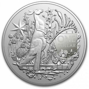 RAM AUSTRALIE 1 Dollar Argent 1 Once Coat of Arms 2021