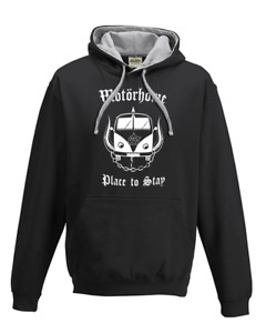 MOTORHOME- Place to Stay- Heavy Metal Parody Men's hoodie