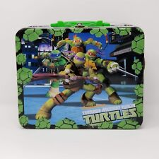 Teenage Mutant Ninja Turtles TMNT 48 Piece Jigsaw Puzzle Tin Storage Lunchbox
