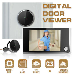 3.5'' LC igital Video Hidden Peephole oorbell Viewer oor Eye Camera  A A