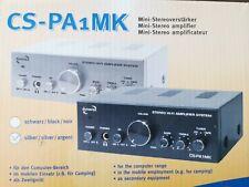 Dynavox CS-PA1 Mini Amplifier Hifi Silver CSPA1  50w Amplifier